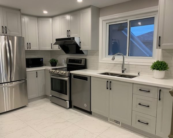 Appliance options in a kitchen reno